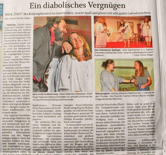 Gelungene Theater Premiere!
